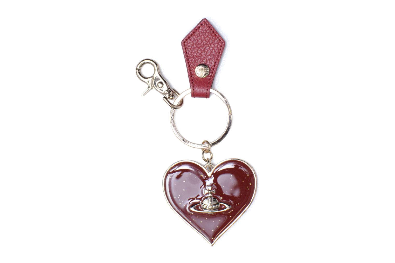 Porte-clés Miroir Cœur Red
