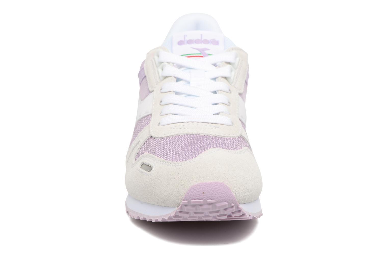 Baskets Diadora TITAN II W Rose vue portées chaussures