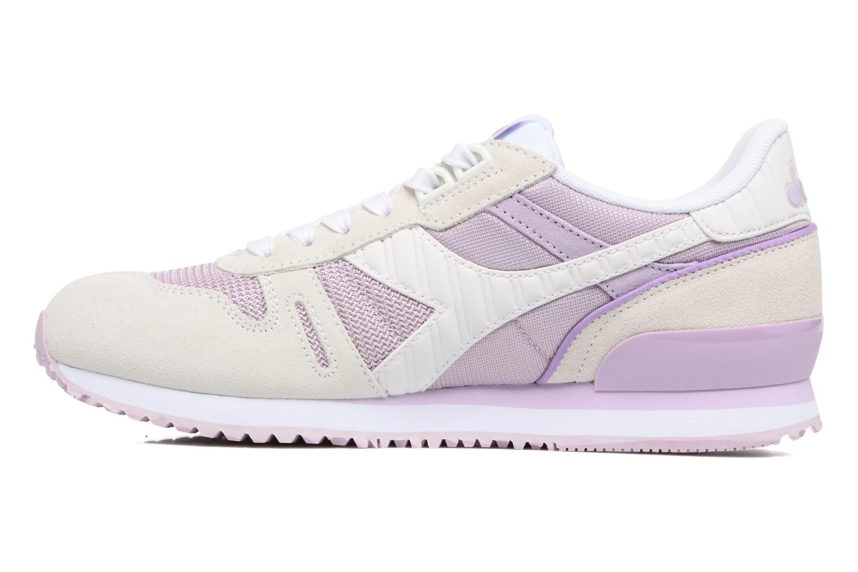 Sneakers Diadora TITAN II W Rosa immagine frontale