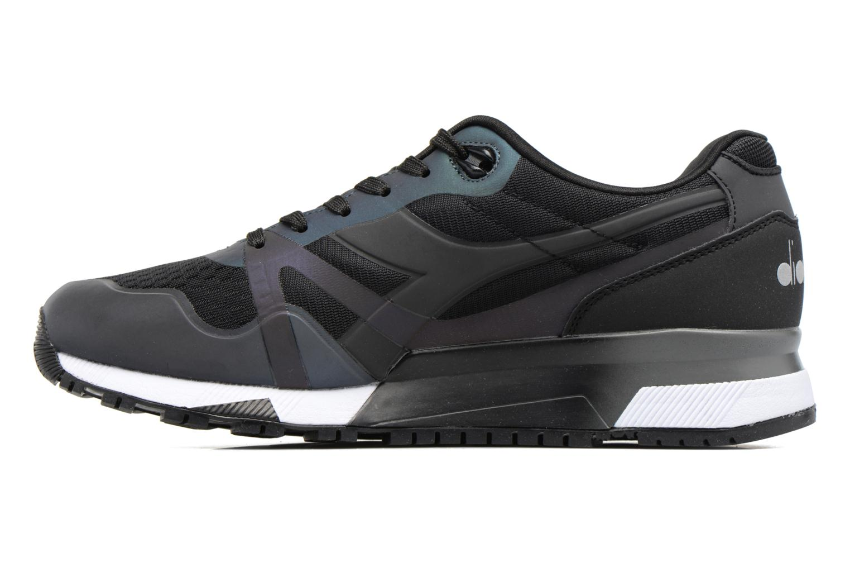 Sneakers Diadora N9000 MM HOLOGRAM Nero immagine frontale