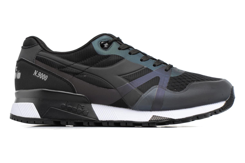 Sneakers Diadora N9000 MM HOLOGRAM Nero immagine posteriore