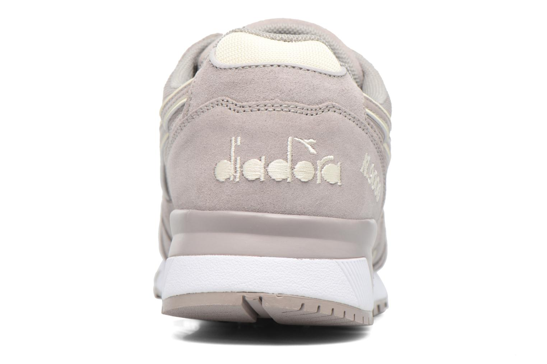 Baskets Diadora N9000 III Gris vue droite
