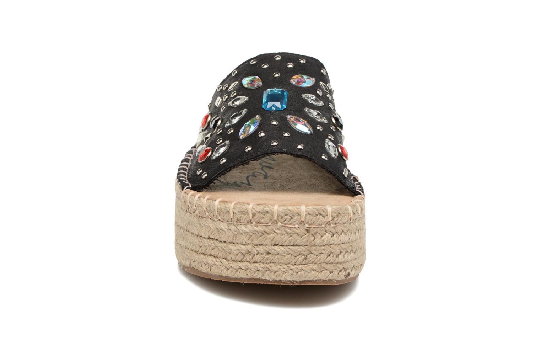 Alpargatas Coolway Jewel Negro vista del modelo