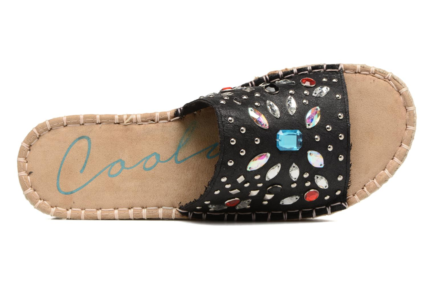 Espadrilles Coolway Jewel Zwart links