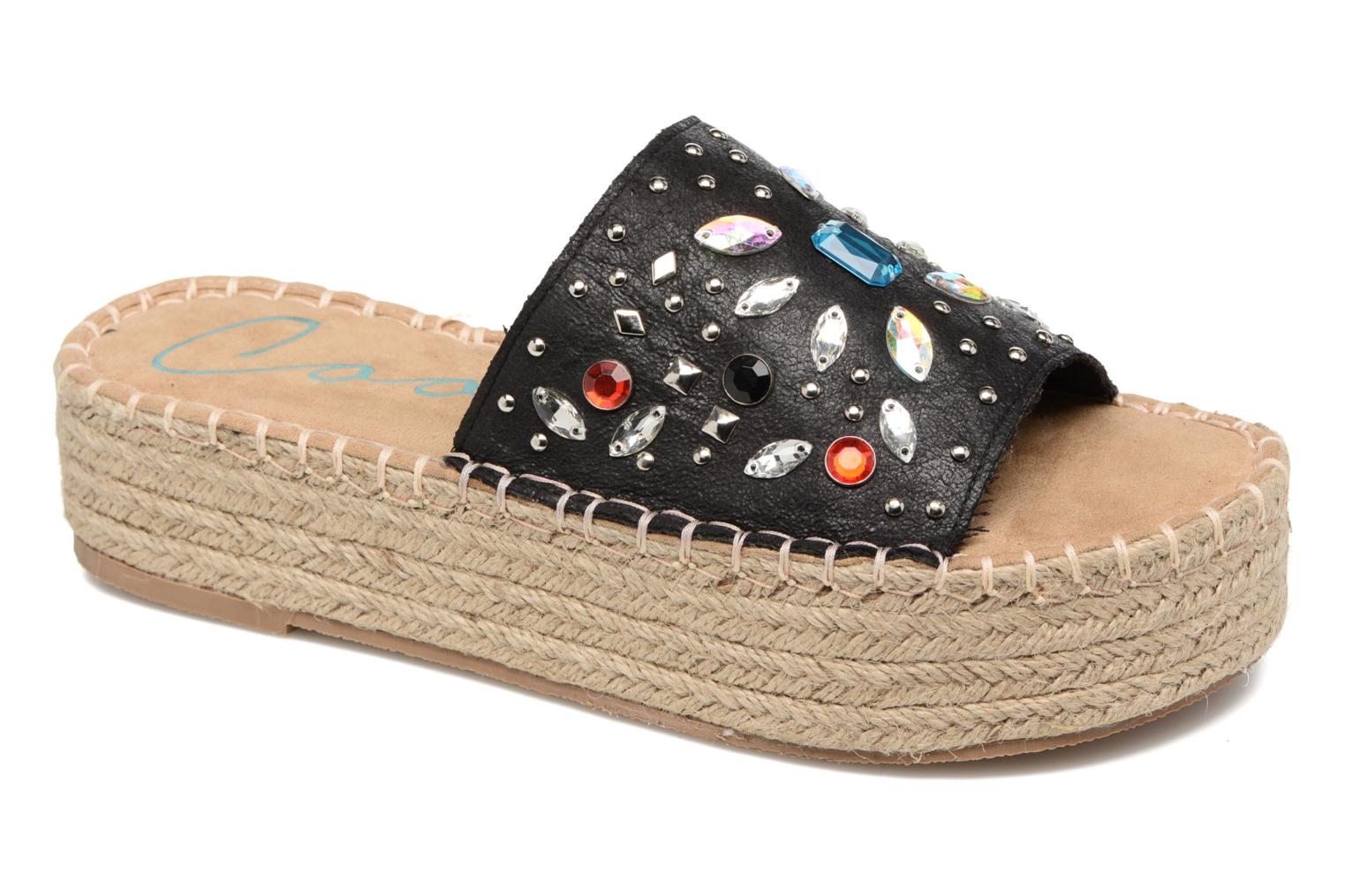 Espadrilles Coolway Jewel Zwart detail
