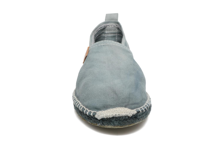 Espadrilles Coolway Jori Bleu vue portées chaussures