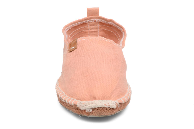 Espadrilles Coolway Jori Rose vue portées chaussures