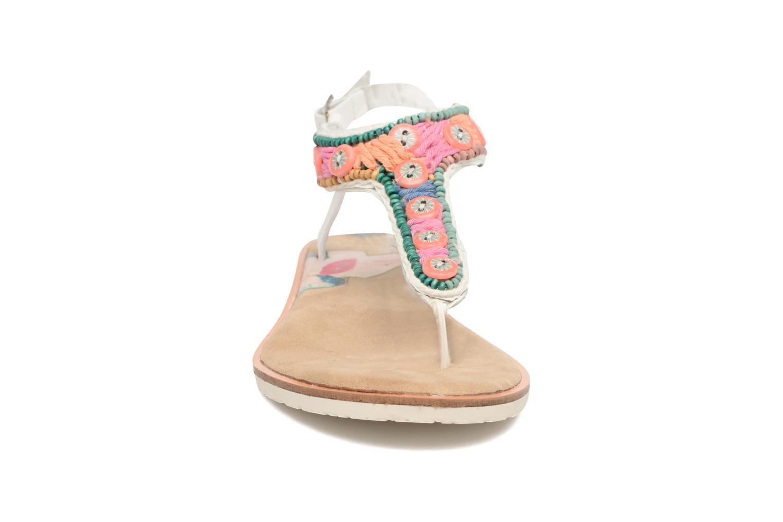 Sandales et nu-pieds Coolway Maraca Blanc vue portées chaussures