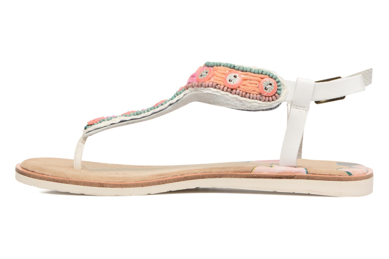 Sandales et nu-pieds Coolway Maraca Blanc vue face