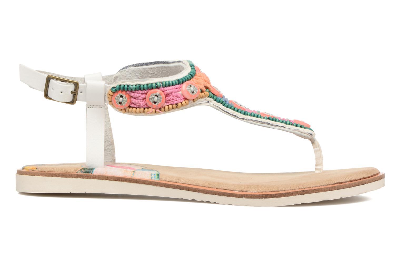 Sandales et nu-pieds Coolway Maraca Blanc vue derrière
