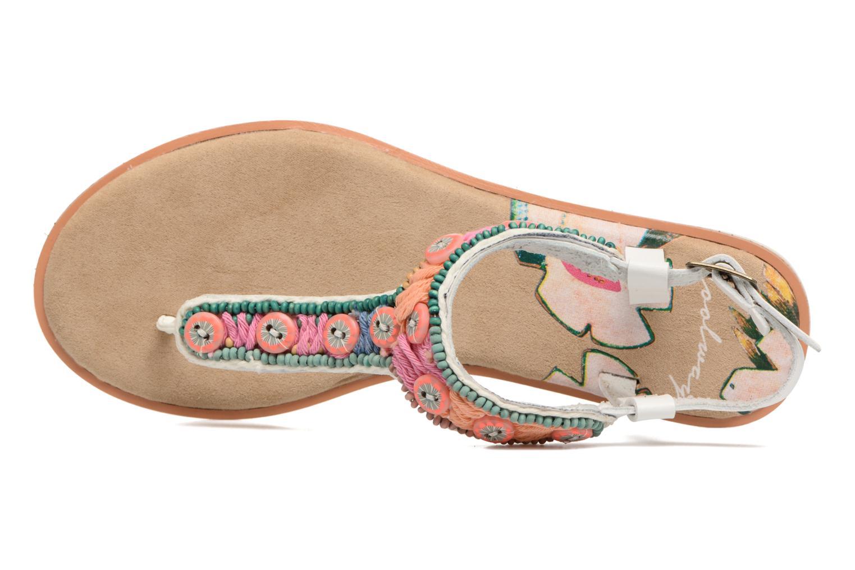 Sandales et nu-pieds Coolway Maraca Blanc vue gauche