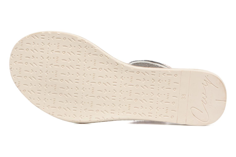 Sandales et nu-pieds Coolway Maraca Blanc vue haut