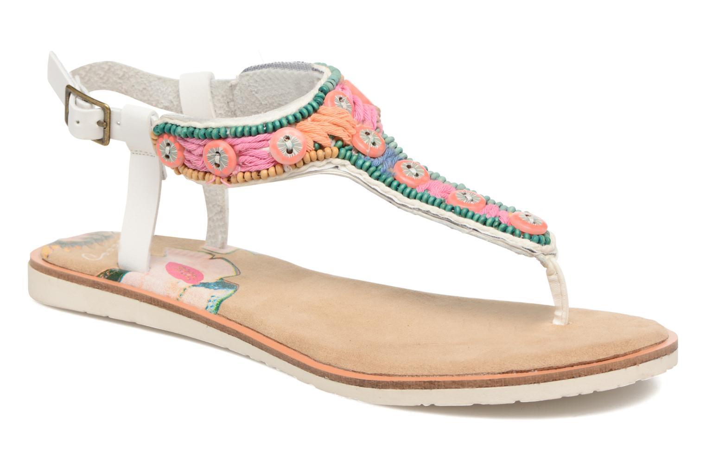 Sandales et nu-pieds Coolway Maraca Blanc vue détail/paire