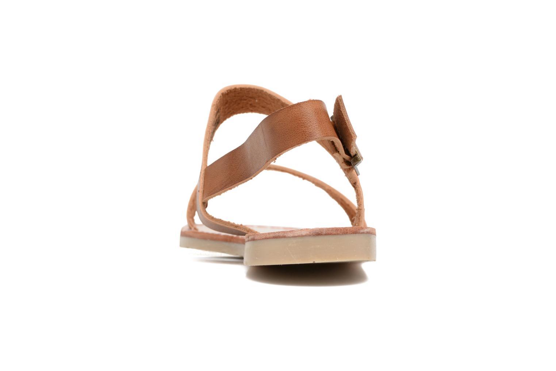 Sandales et nu-pieds Coolway Monda Marron vue droite