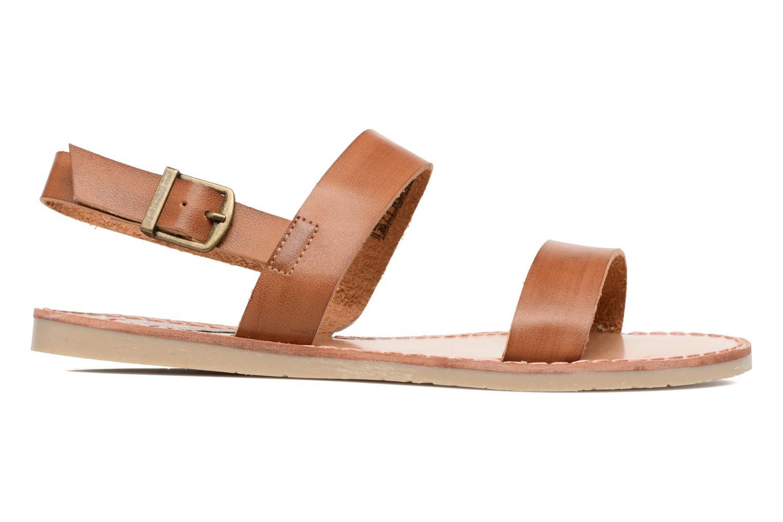 Sandales et nu-pieds Coolway Monda Marron vue derrière