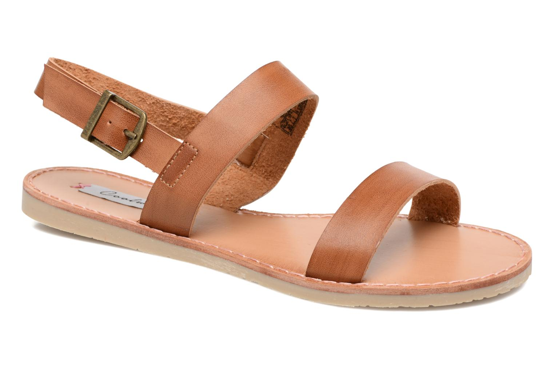 Sandales et nu-pieds Coolway Monda Marron vue détail/paire