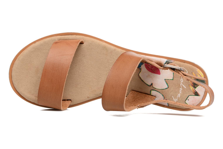 Sandali e scarpe aperte Coolway Morel Marrone immagine sinistra