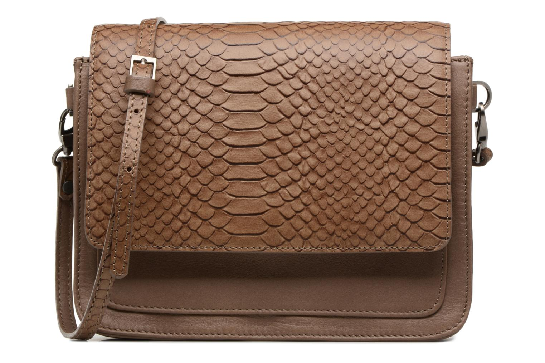 Handbags Sabrina Cyriane croco Brown detailed view/ Pair view