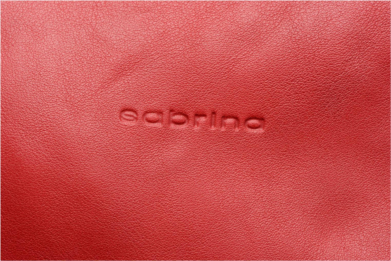 Sacs à main Sabrina Joséphine Rouge vue gauche