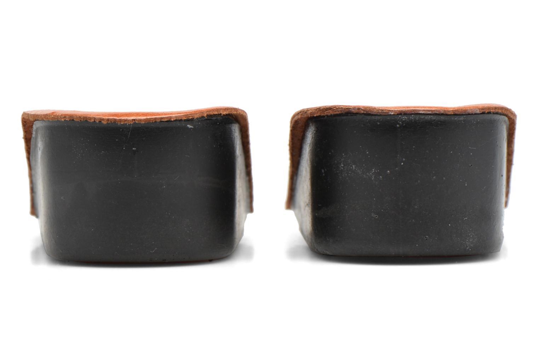 Talonette galbante 4cm marron