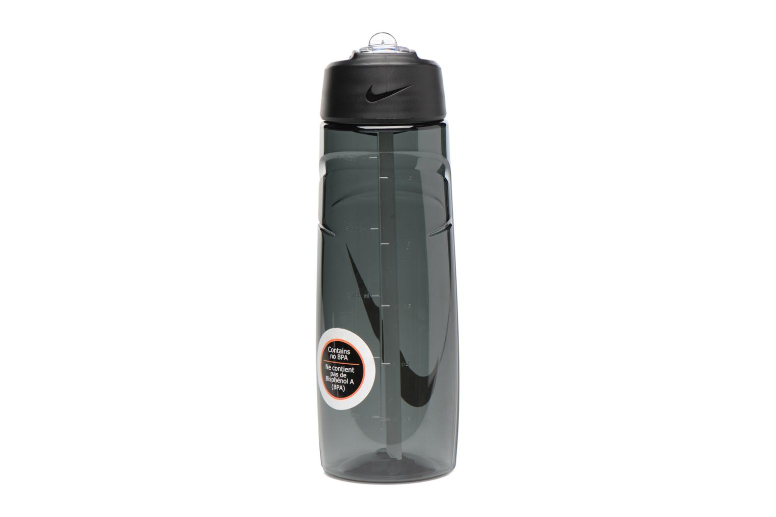 Divers Nike T1 FLOW SWOOSH WATER BOTTLE 24oz Zwart voorkant
