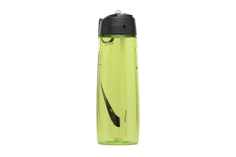 Altro Nike T1 FLOW SWOOSH WATER BOTTLE 24oz Verde immagine frontale
