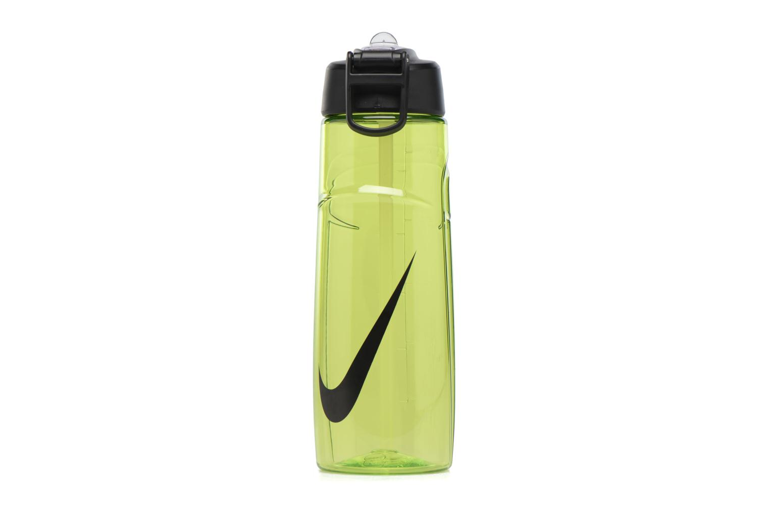 Miscellaneous Nike T1 FLOW SWOOSH WATER BOTTLE 24oz Green detailed view/ Pair view