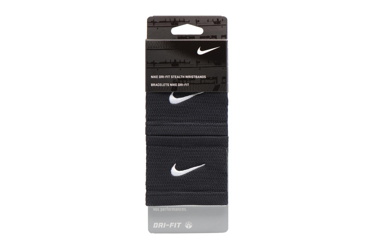 Miscellaneous Nike DRI-FIT STEALTH WRISTBANDS Black model view