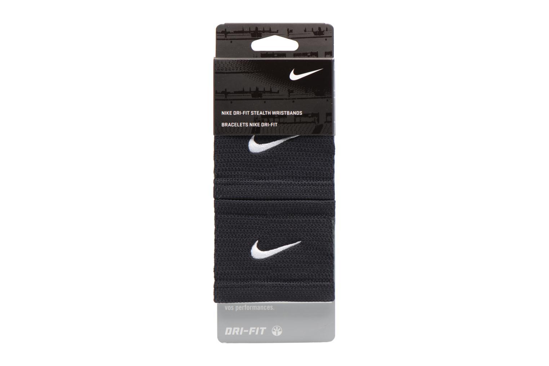 Divers Nike DRI-FIT STEALTH WRISTBANDS Noir vue portées chaussures