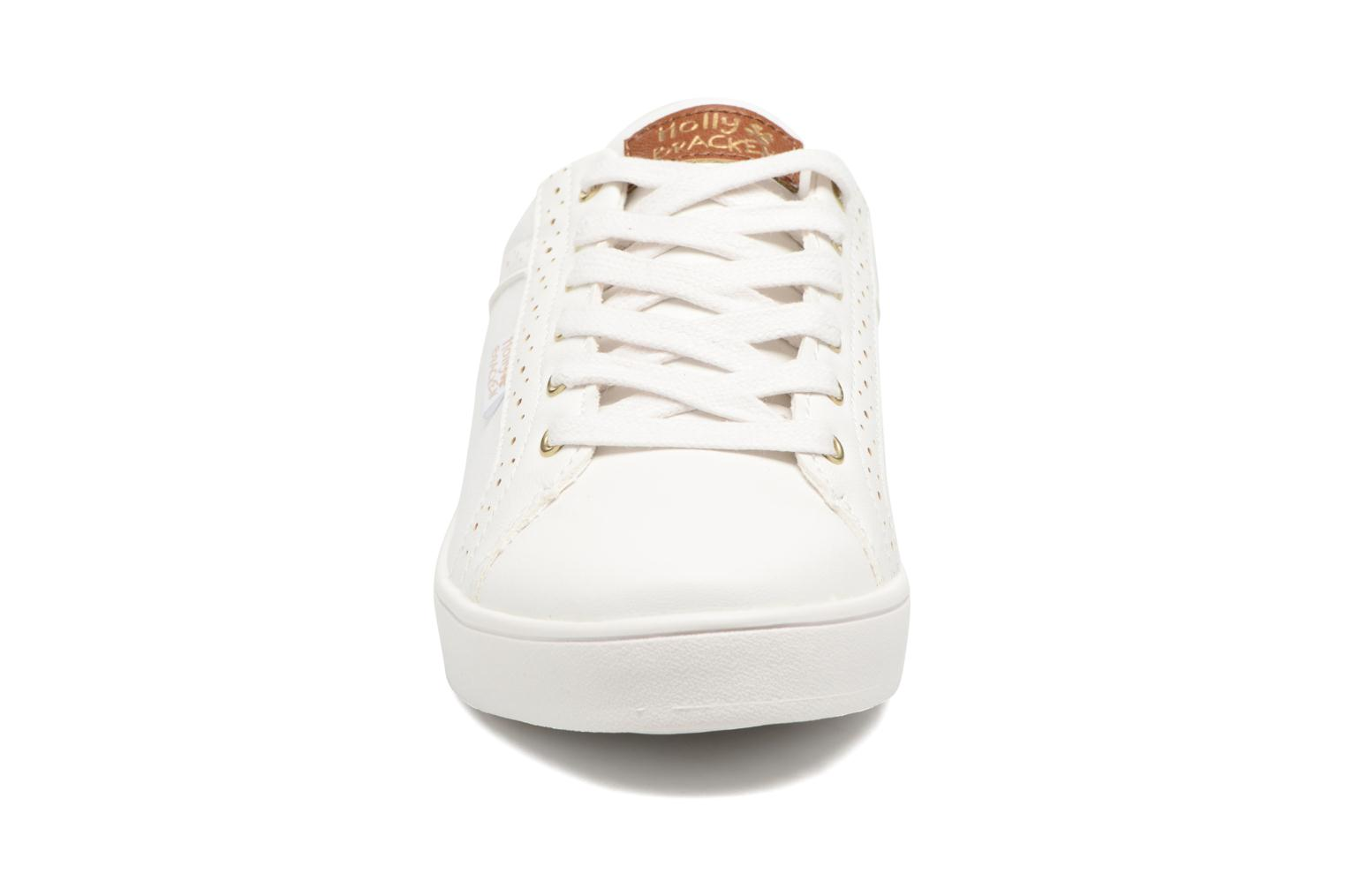 Baskets Molly Bracken Ladies White Blanc vue portées chaussures