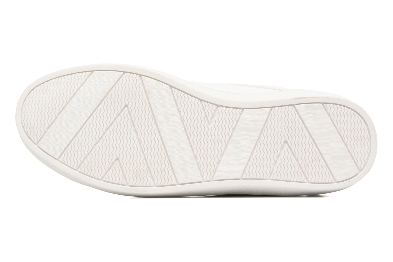 Baskets Molly Bracken Ladies White Blanc vue haut