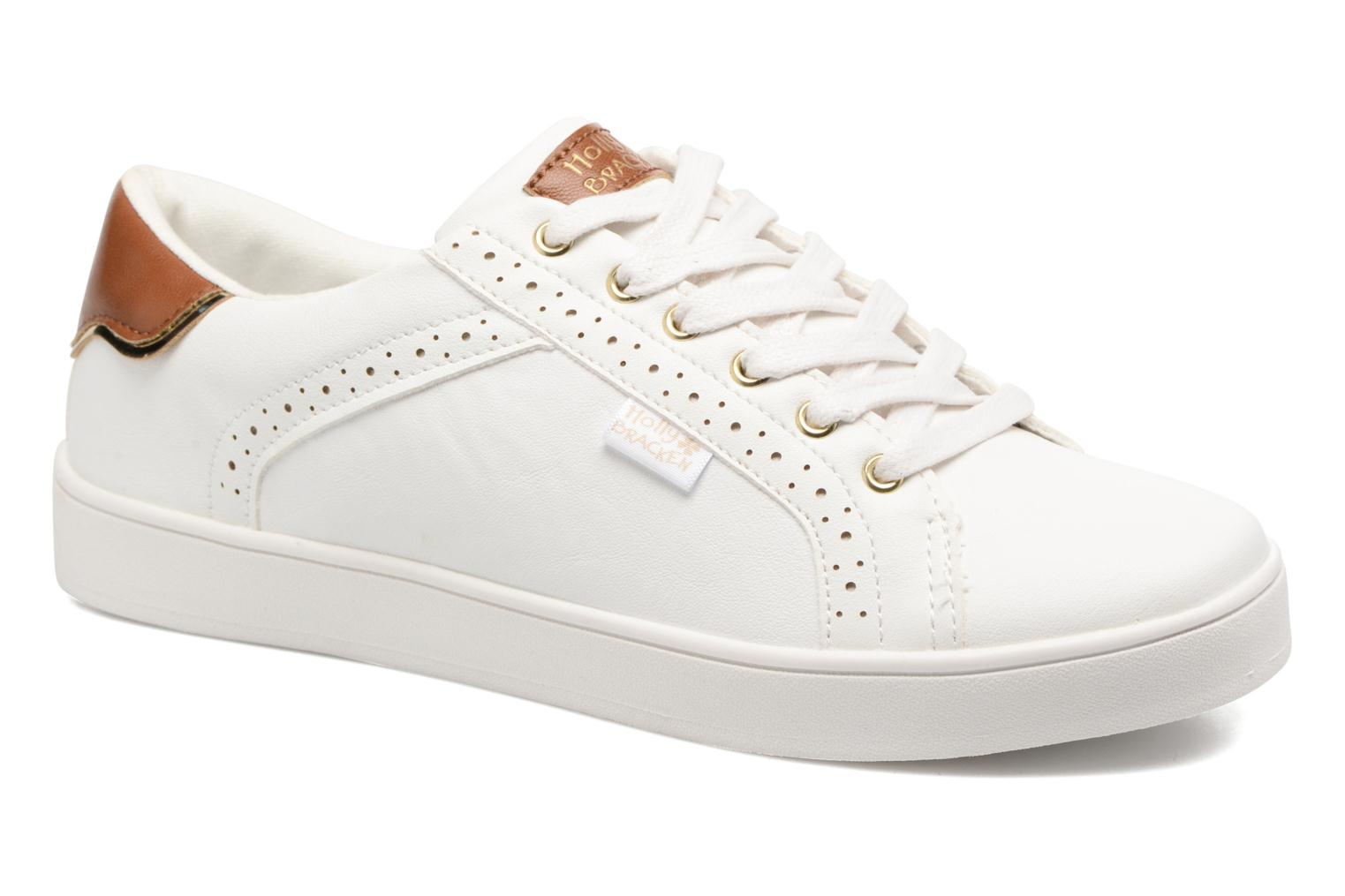 Baskets Molly Bracken Ladies White Blanc vue détail/paire