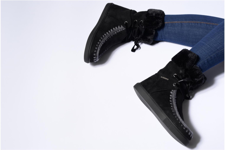Bottines et boots Chattawak Virginie Noir vue bas / vue portée sac