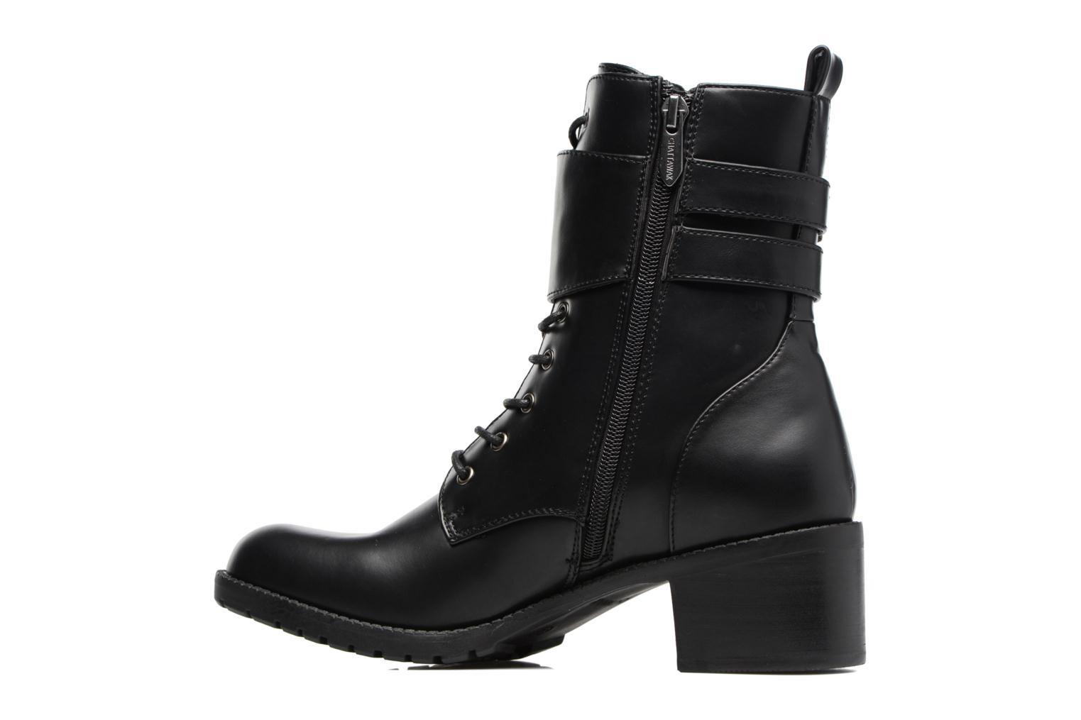 Bottines et boots Chattawak Marion Noir vue face