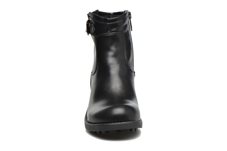 Bottines et boots Chattawak Melissa Noir vue portées chaussures