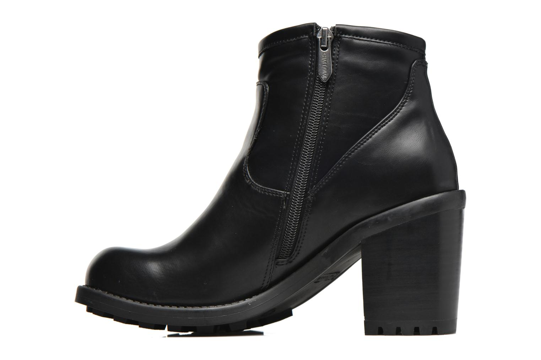 Bottines et boots Chattawak Melissa Noir vue face