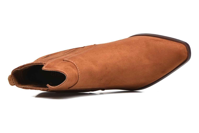 Bottines et boots Chattawak Laurence Marron vue gauche