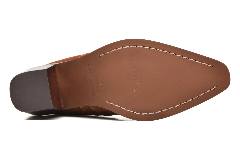 Bottines et boots Chattawak Laurence Marron vue haut