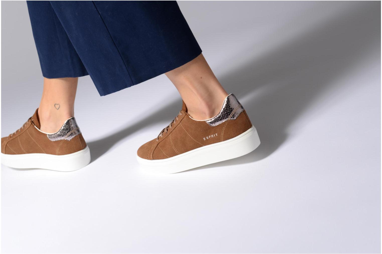 Sneakers Esprit Elda Bruin onder