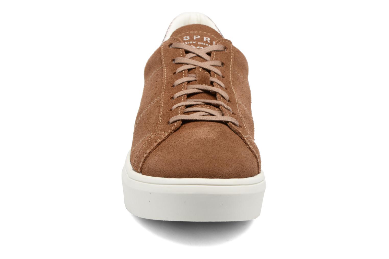 Baskets Esprit Elda Marron vue portées chaussures