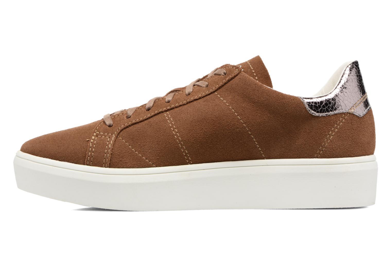Sneakers Esprit Elda Bruin voorkant