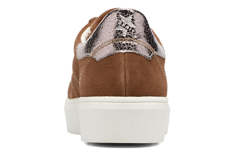 Sneakers Esprit Elda Bruin rechts