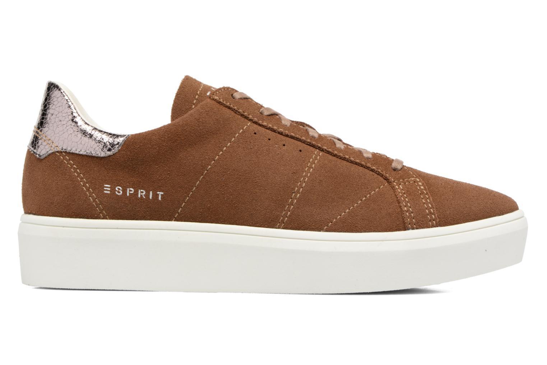 Sneakers Esprit Elda Bruin achterkant