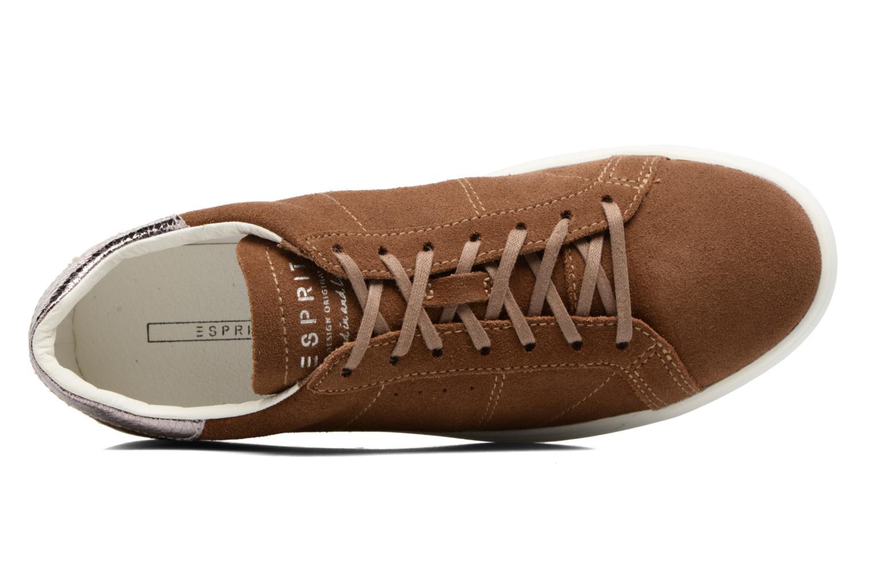 Sneakers Esprit Elda Bruin links
