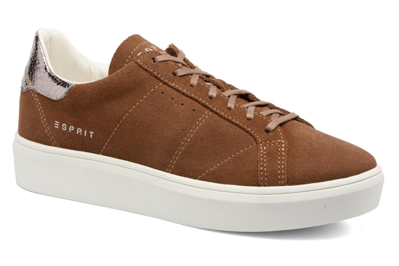 Sneakers Esprit Elda Bruin detail