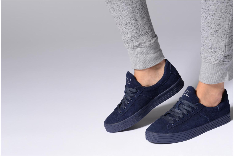 Sneakers Esprit Sita lace up Nero immagine dal basso