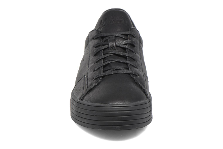 Baskets Esprit Sita lace up Noir vue portées chaussures