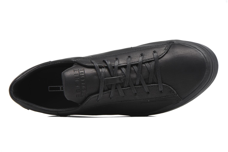 Sneakers Esprit Sita lace up Nero immagine sinistra