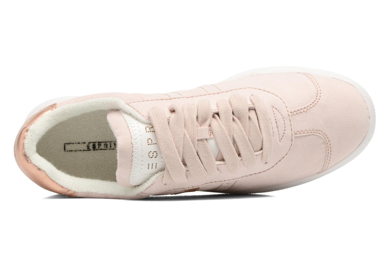 Sneaker Esprit Gweneth lou beige ansicht von links