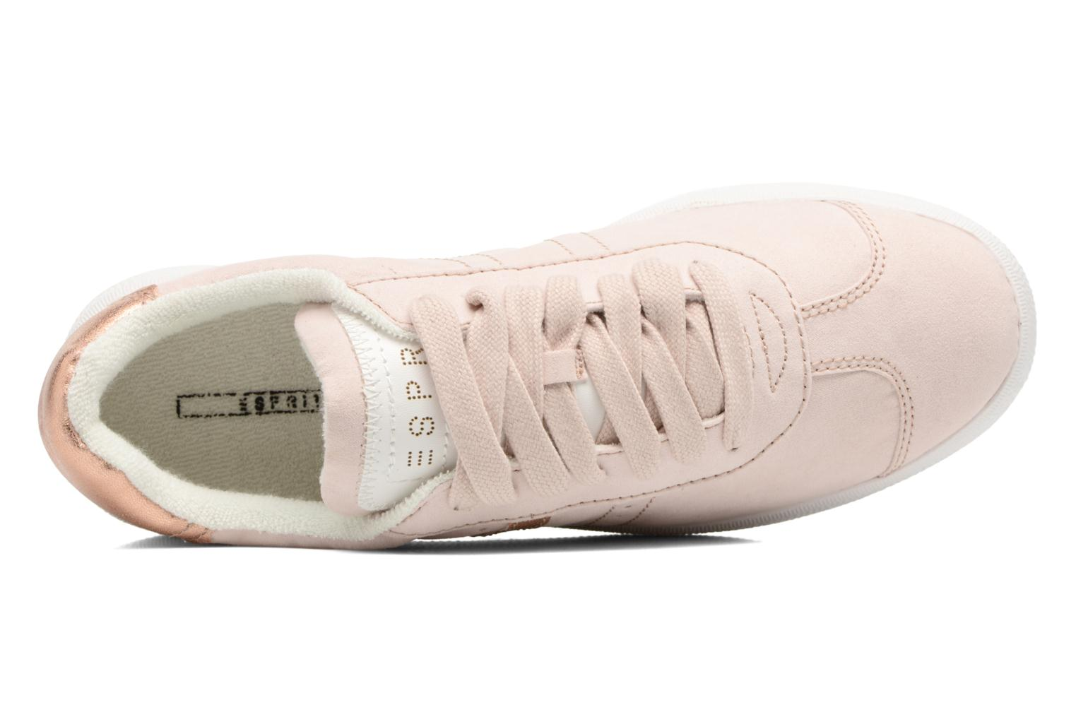 Trainers Esprit Gweneth lou Beige view from the left